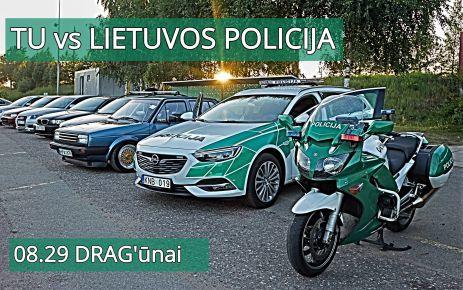 DRAG'ūnai vs Lietuvos policija