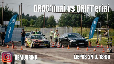 DRAGūnai vs DRIFTeriai