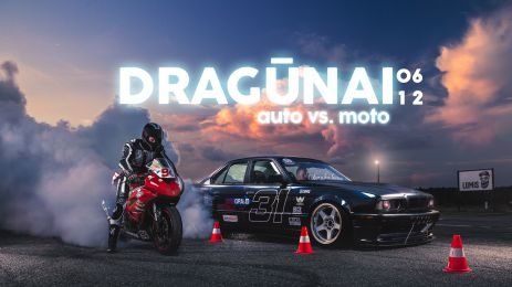 DRAG'ūnų vakaras - AUTO vs MOTO